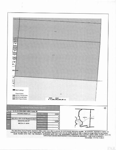 Milton Residential Lots & Land For Sale: N Hwy 87