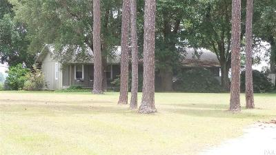 Century Single Family Home For Sale: 7300 Jack Smith Rd