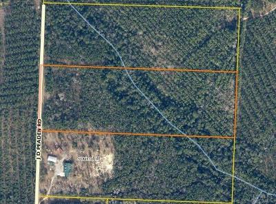 Milton Residential Lots & Land For Sale: 13.68 J D Peaden Rd