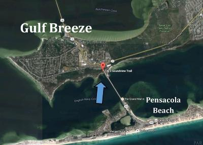 Gulf Breeze Residential Lots & Land For Sale: 1413 Soundview Trl