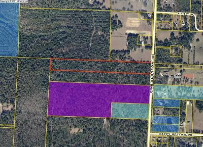 Milton Residential Lots & Land For Sale: 10 Ac Pine Blossom Rd