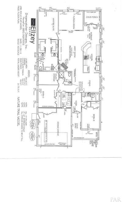 Gulf Breeze Single Family Home For Sale: 1197 Autumn Breeze Cir