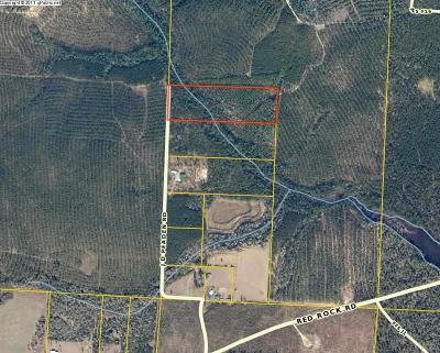 Milton Residential Lots & Land For Sale: 13.18 J D Peaden Rd