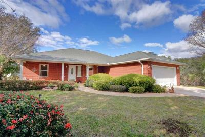 Gulf Breeze Single Family Home For Sale: 6014 East Bay Blvd