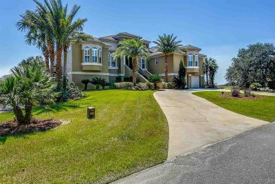 Pensacola, Pensacola Beach, Perdido, Perdido Key, Bagdad, Gulf Breeze, Milton, Navarre, Navarre Beach, Pace Single Family Home For Sale: 1612 Smugglers Cove Cir