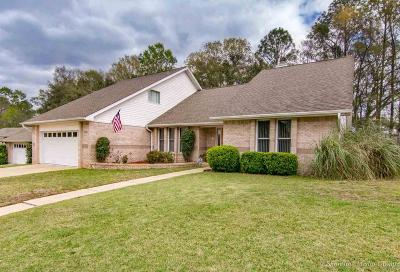 Cantonment Single Family Home For Sale: 2020 Hamilton Crossing
