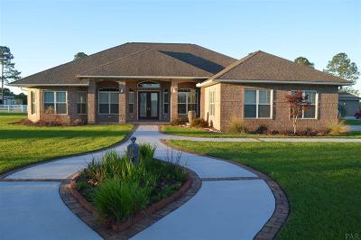 Cantonment Single Family Home For Sale: 495 Carmody Hill Rd