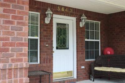 Milton Single Family Home For Sale: 5643 Eagle Dr