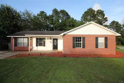 Pensacola Single Family Home For Sale: 8580 Kingfisher Ln