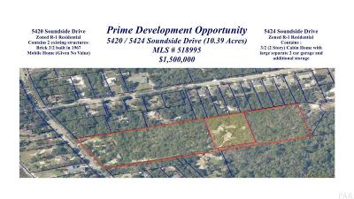 Gulf Breeze Residential Lots & Land For Sale: 5424 Soundside Dr