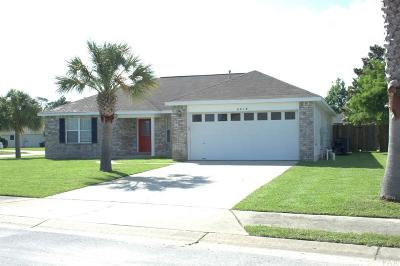 Gulf Breeze Single Family Home For Sale: 6418 Starfish Cv