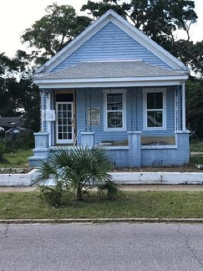 Pensacola Single Family Home For Sale: W 520 Gregory St