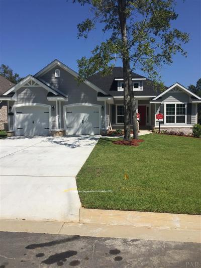 Pensacola Single Family Home For Sale: 6003 Twenty One Oaks Dr