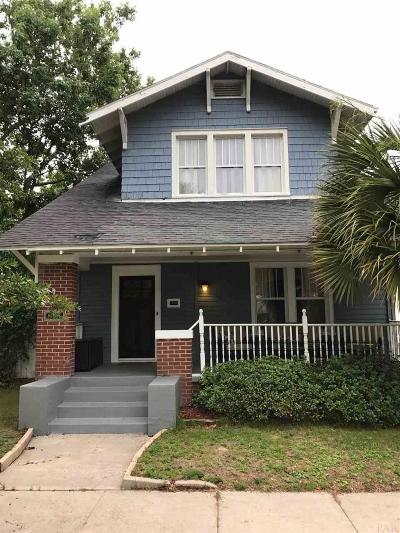 Pensacola Single Family Home For Sale: N 816 12th Ave