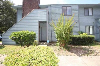 Pensacola Condo/Townhouse For Sale: W 7225 Fairfield Dr #C-1