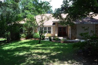 Pace Single Family Home For Sale: 5416 Creek View Ln