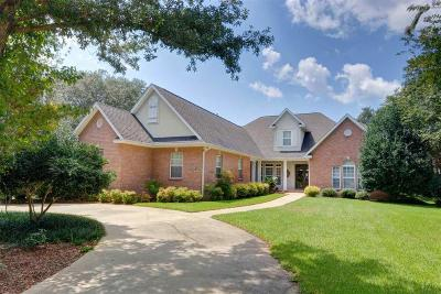 Gulf Breeze Single Family Home For Sale: 5716 East Bay Blvd
