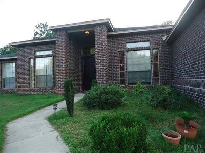 Cantonment Single Family Home For Sale: 1343 Longbranch Dr