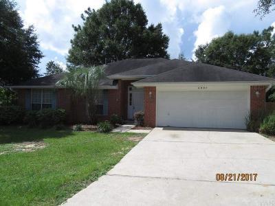 Milton Rental For Rent: 6007 Northwood Ct