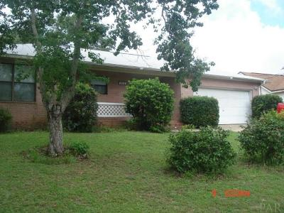 Pensacola Single Family Home For Sale: 5803 West Shore Dr