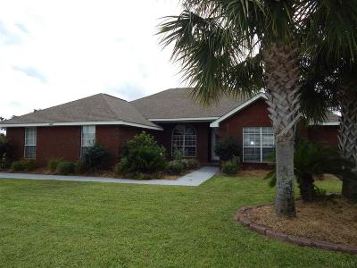 Gulf Breeze Single Family Home For Sale: 1607 Woodlawn Way