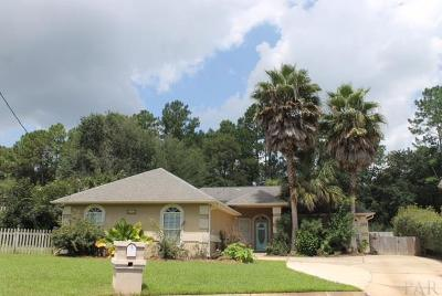 Cantonment Single Family Home For Sale: 1861 Shady Creek Dr
