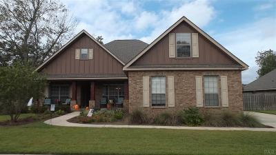 Cantonment Single Family Home For Sale: 2141 Staff Dr