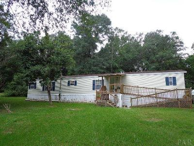 Pace Mobile Home For Sale: 5325 Yancy Dr
