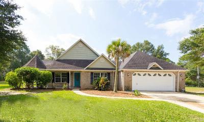 Milton Single Family Home For Sale: 5561 Cottonwood Dr