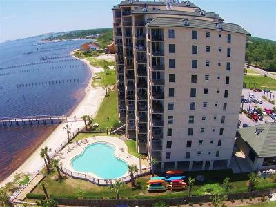 Pensacola, Pensacola Beach, Perdido, Perdido Key, Bagdad, Gulf Breeze, Milton, Navarre, Navarre Beach, Pace Condo/Townhouse For Sale: 10335 Gulf Beach Hwy #207