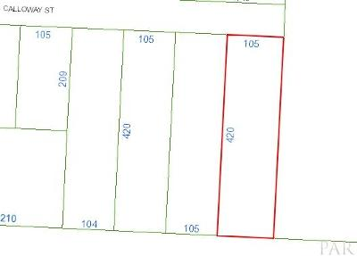 Cantonment Residential Lots & Land For Sale: Calloway St