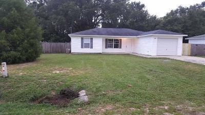 Milton Single Family Home For Sale: 6421 Appaloosa Ave