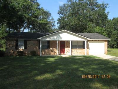 Pensacola FL Single Family Home For Sale: $127,750