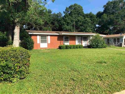 Pensacola FL Single Family Home For Sale: $82,000