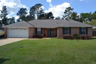 Cantonment Single Family Home For Sale: 3275 Deer Ridge Rd