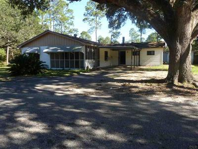 Milton Single Family Home For Sale: 5763 Trout Bayou Cir