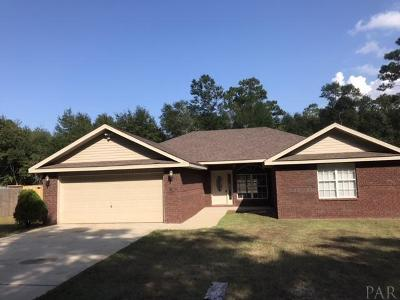 Milton Single Family Home For Sale: 6570 Kembro Rd