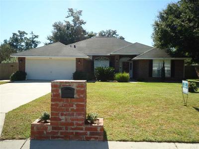 Milton Single Family Home For Sale: 4036 Buttonbush Dr