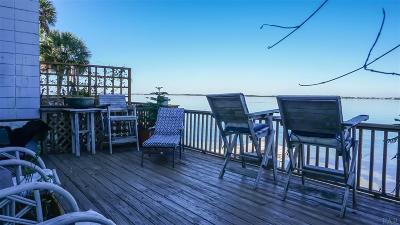 Pensacola Beach Condo/Townhouse For Sale: 1667 Bulevar Menor