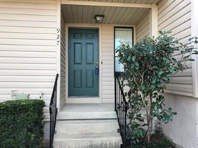 Pensacola Condo/Townhouse For Sale: 927 Brookside Pl