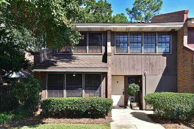 Pensacola Condo/Townhouse For Sale: W 4300 Francisco Rd #1