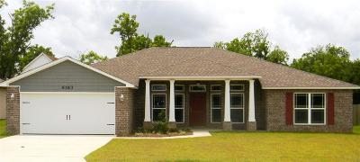 Pace Single Family Home For Sale: 5714 Mill Stream Way
