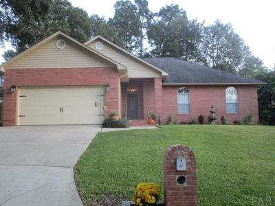 Cantonment Single Family Home For Sale: 1515 Muirfield Rd