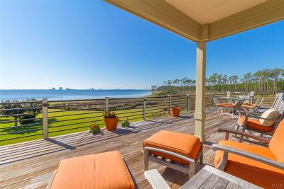 Gulf Breeze Single Family Home For Sale: 820 Silver Strand
