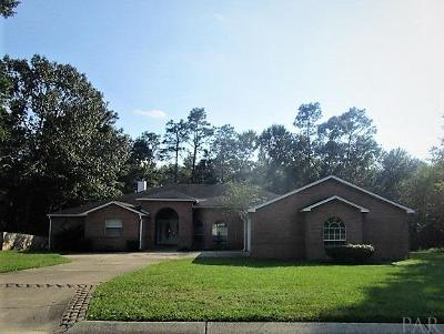 Cantonment Single Family Home For Sale: 2545 Rosedown Dr