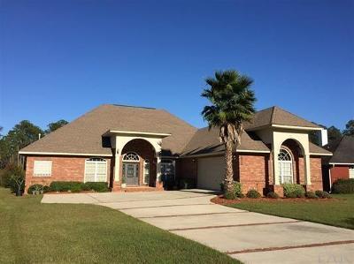 Pensacola Single Family Home For Sale: 1916 Crown Pointe Blvd