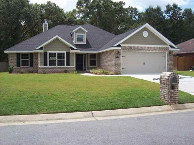 Milton Single Family Home For Sale: 5695 Tiger Woods Dr