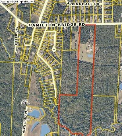 Escambia County, Santa Rosa County Residential Lots & Land For Sale: 5601 Hamilton Bridge Rd