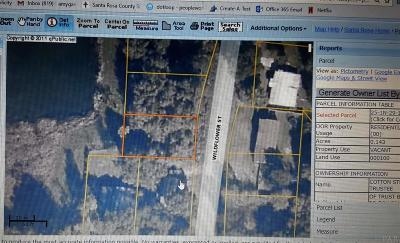 Pace Residential Lots & Land For Sale: Wildflower St