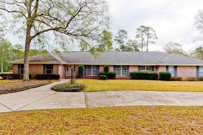 Cantonment Single Family Home For Sale: 2502 Jeter Rd